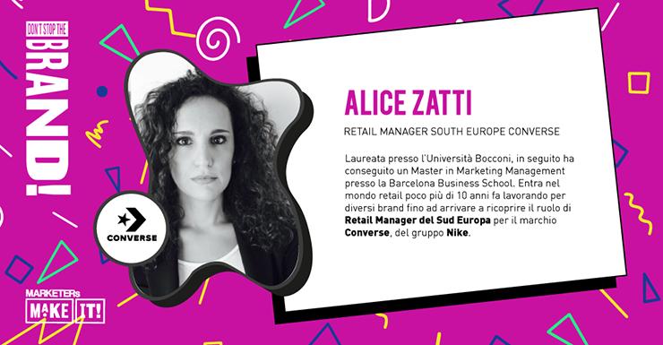 Alice Zatti di Converse