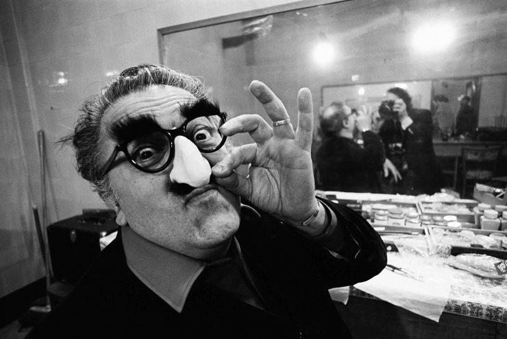 Federico Fellini | Ph Vittoriano Rastelli