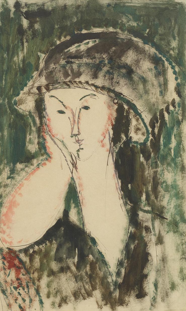 Ritratto di Beatrice Hastings, 1915