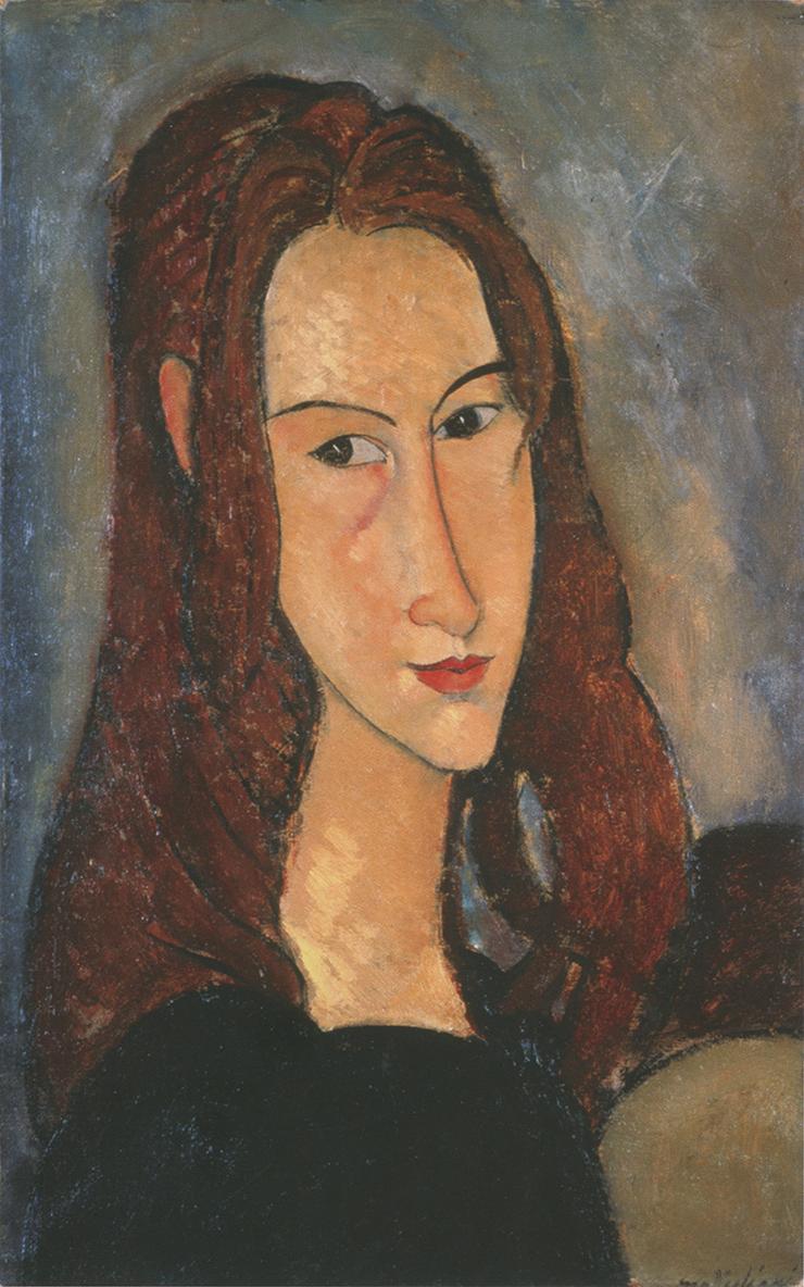 Ritratto di ragazza dai capelli rossi