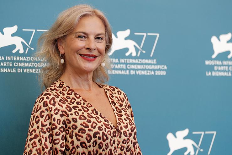 Photocall Quo vadis, Aida? | Actress Jasna Đuričić | Credits La Biennale di Venezia - Foto ASAC, photo by Jacopo Salvi
