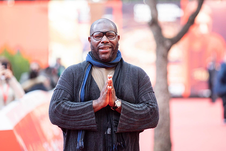 #RomaFF15 | Red carpet, Steve McQueen | Ph Luca Dammico